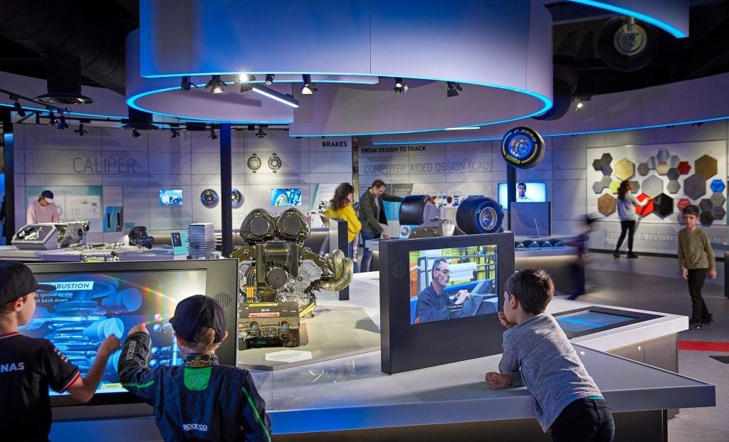 Silverstone Interactive Museum