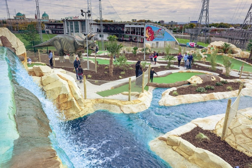 Featured image for Dino Falls Adventure Golf