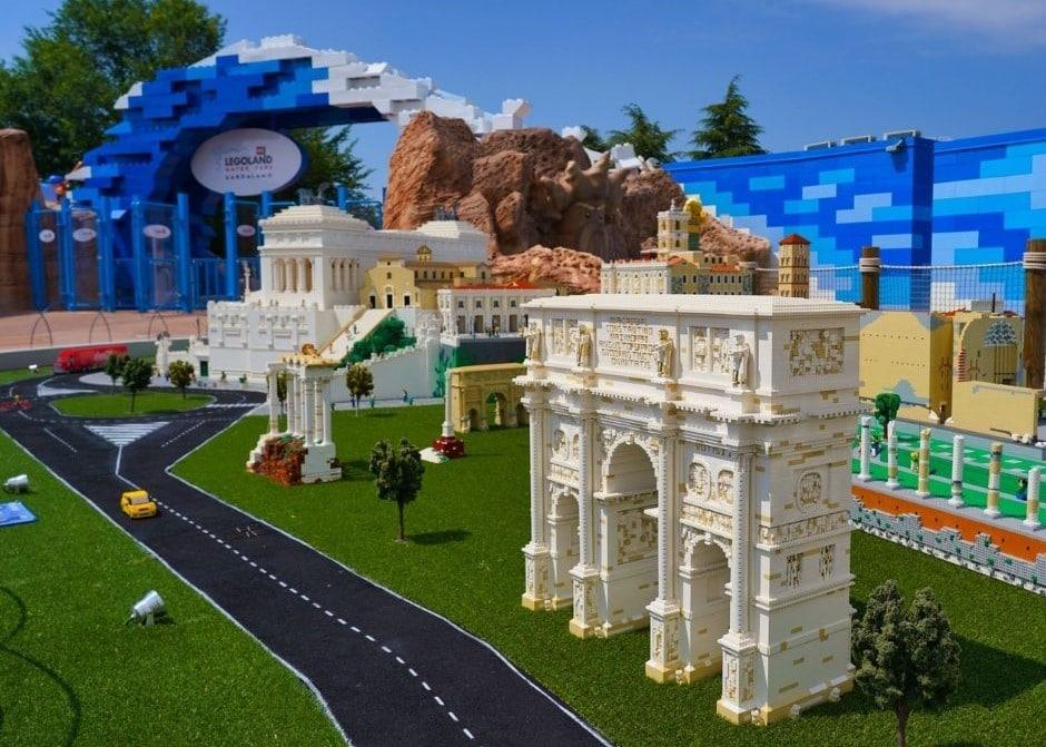 Legoland Brand New Water park Gardaland Italy