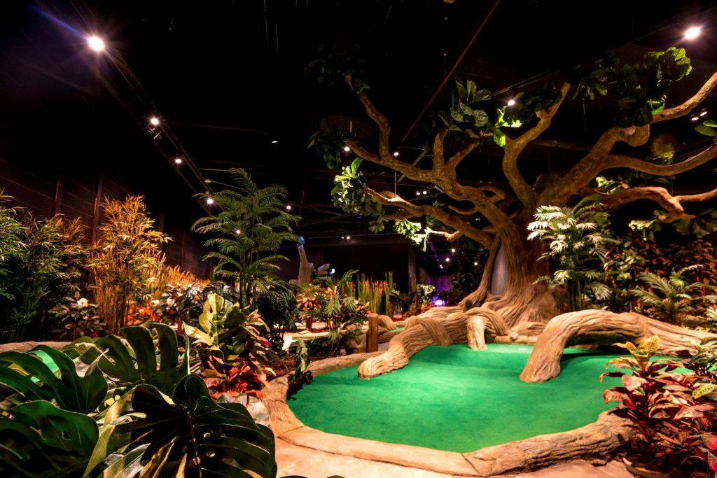 Treetop Adventure Golf Manchester