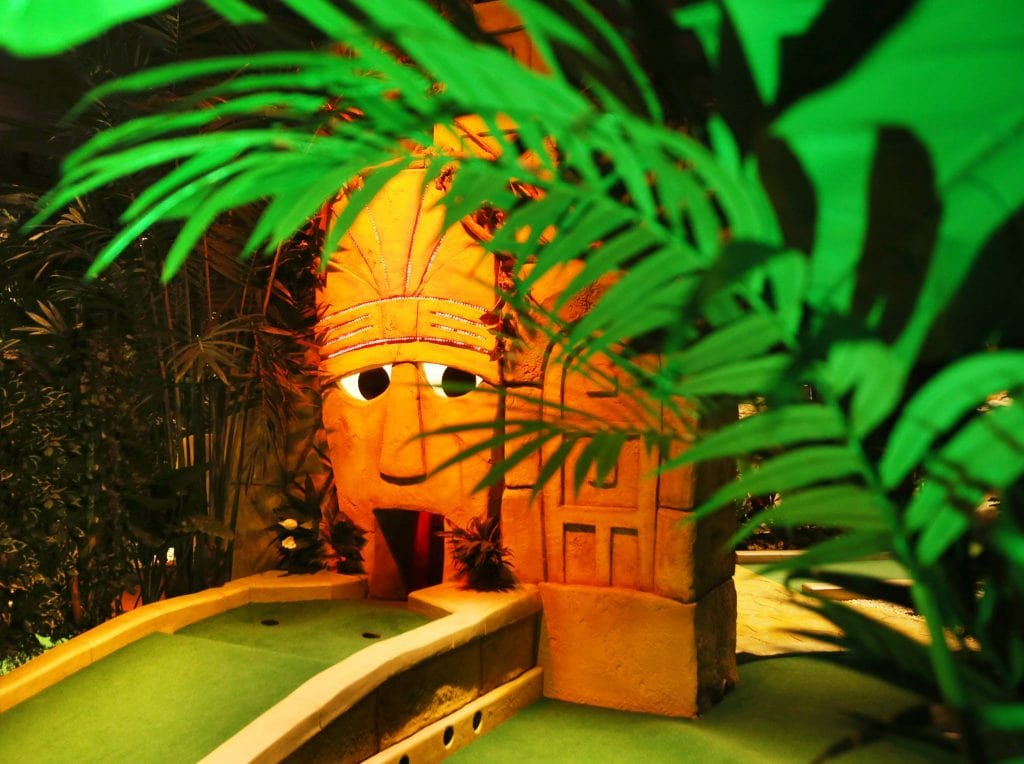 Featured image for Treetop Adventure Golf Cardiff
