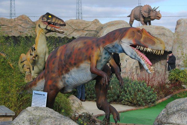 Jurassic Encounter Adventure Golf
