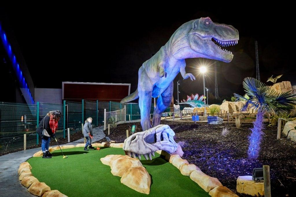 Dino Falls Adventure Golf