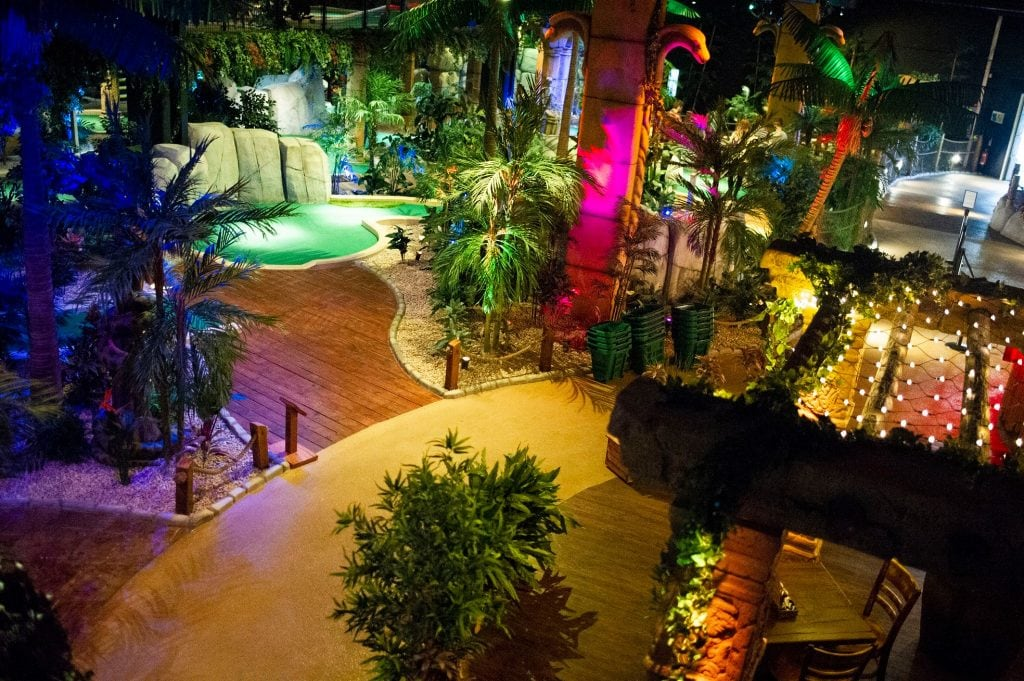 The Lost City Adventure Golf Hull