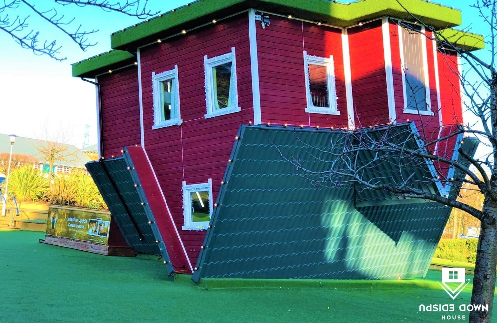 Featured image for Upside Down House Lakeside