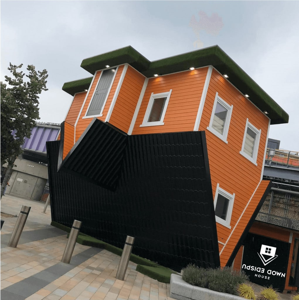 Featured image for Upside Down House Westfield White City
