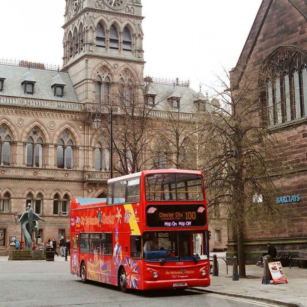 Chester City Sightseeing Bus