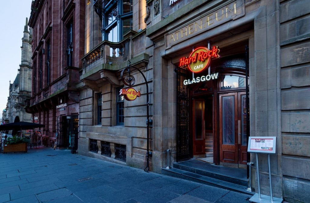 Featured image for Hard Rock Cafe Glasgow