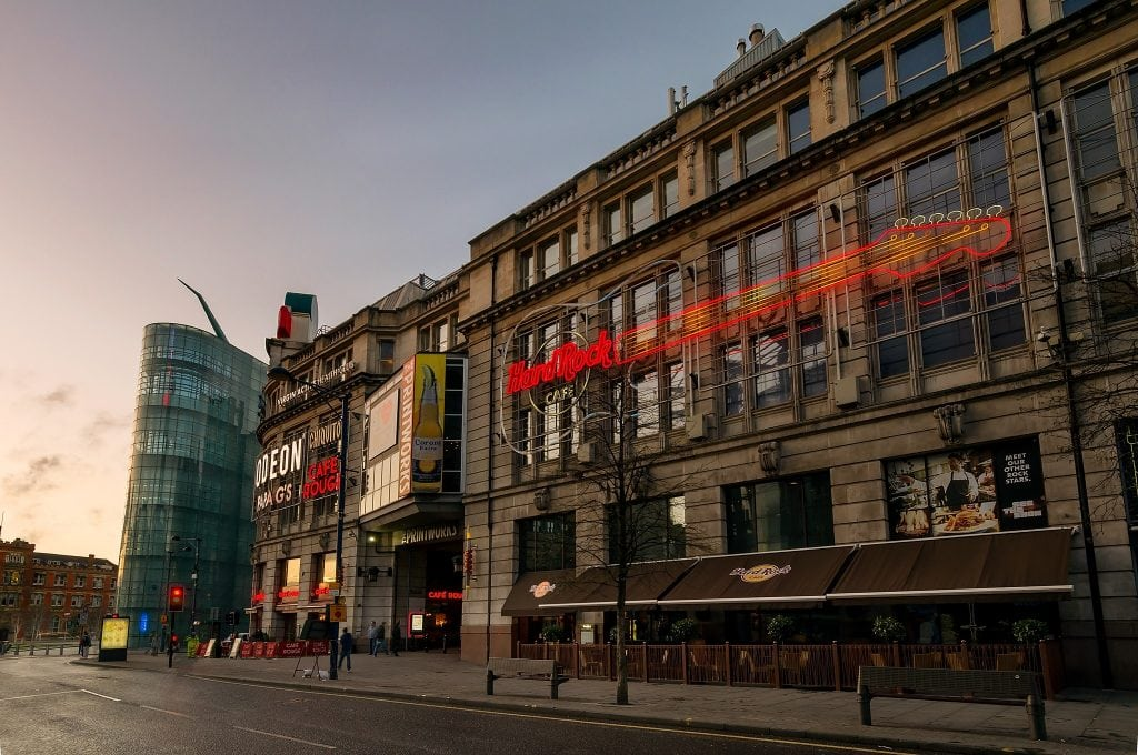 Featured image for Hard Rock Cafe Manchester
