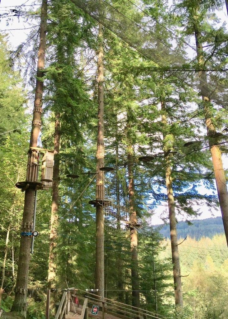 Go Ape Glentress Forest Peebles