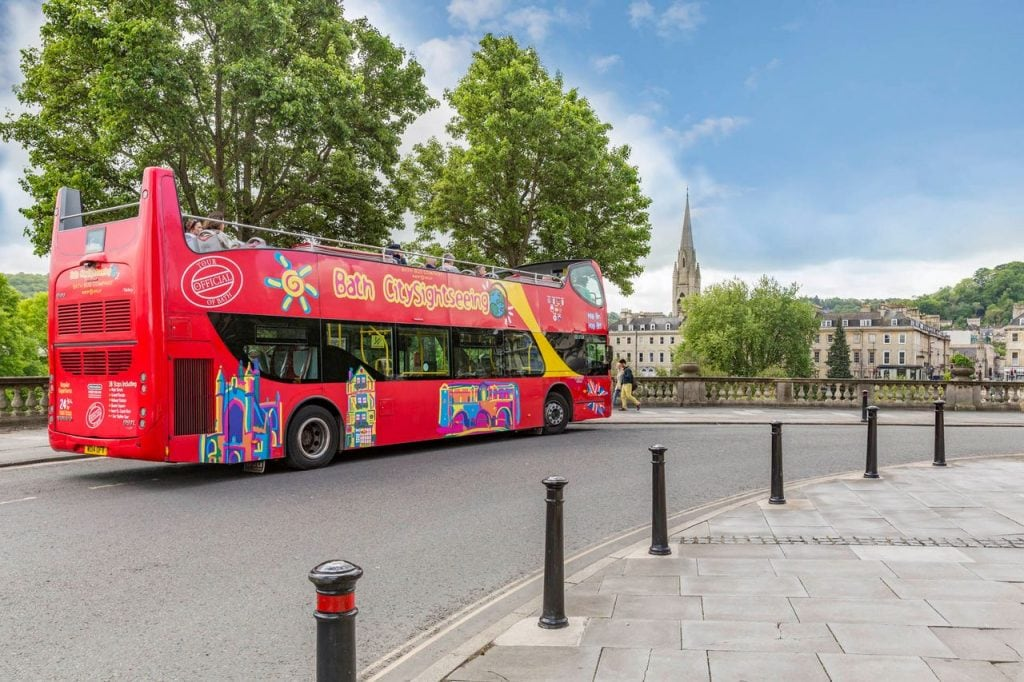 City Sightseeing Bus Bath