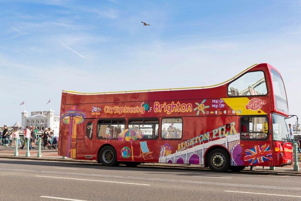 City Sightseeing Bus Brighton