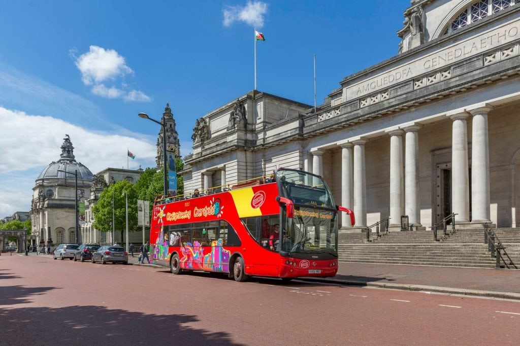 City Sightseeing Bus Cardiff