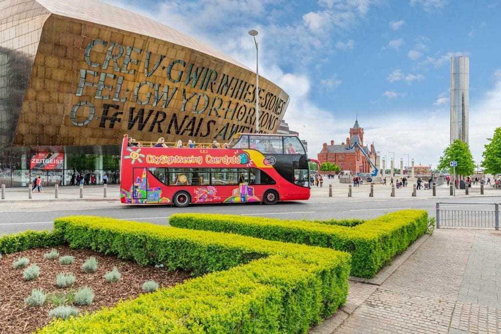 Featured image for City Sightseeing Bus Cardiff