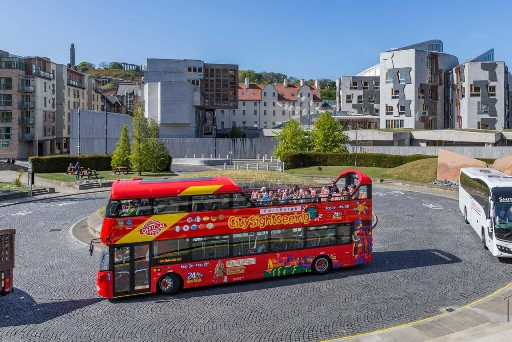 City Sightseeing Bus Edinburgh