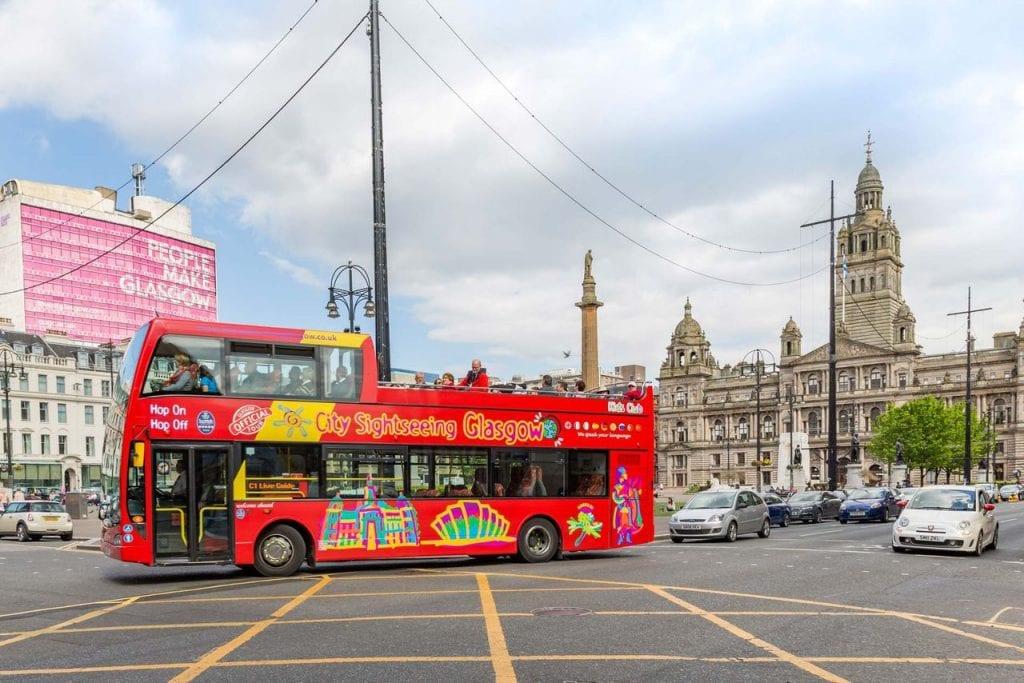 City Sightseeing Bus Glasgow