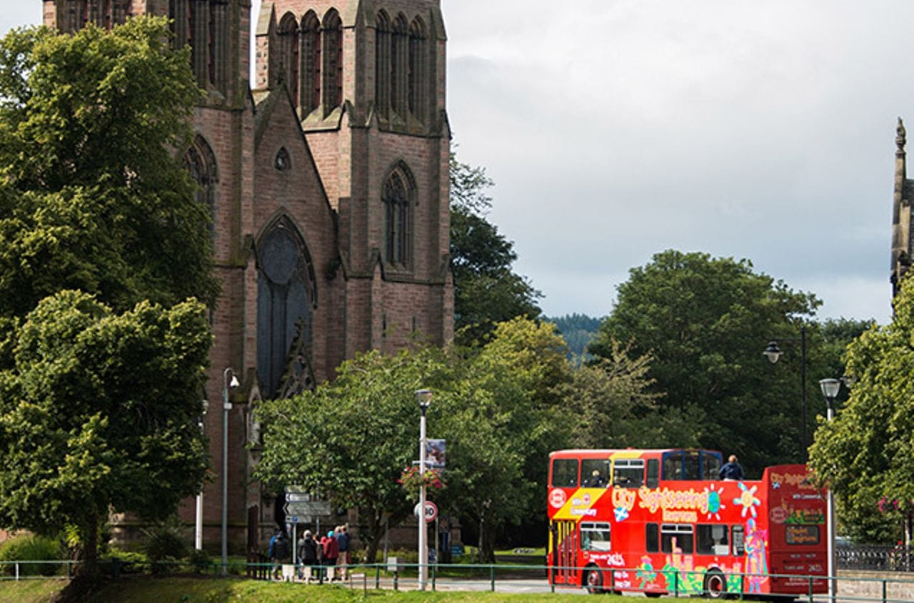 City Sightseeing Bus Inverness