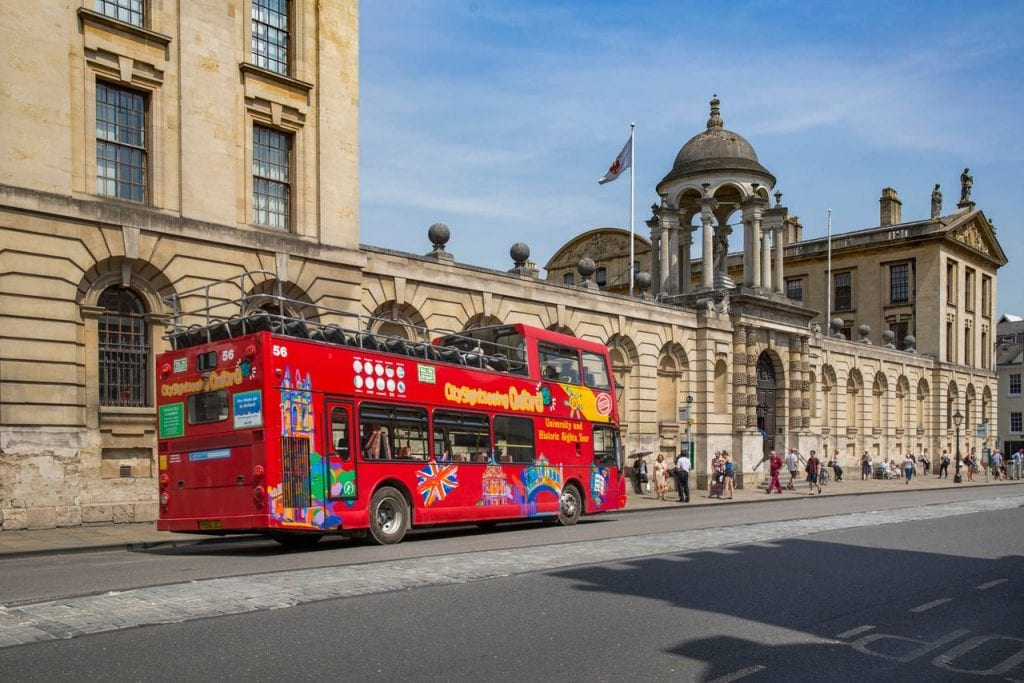 Featured image for City Sightseeing Bus Oxford