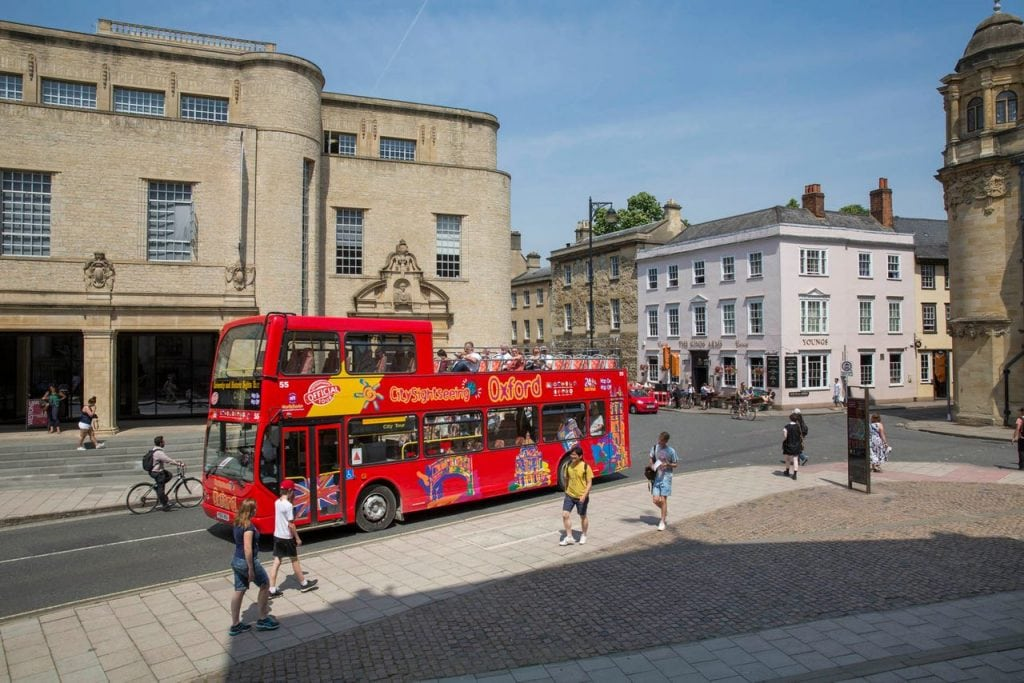 City Sightseeing Bus Oxford
