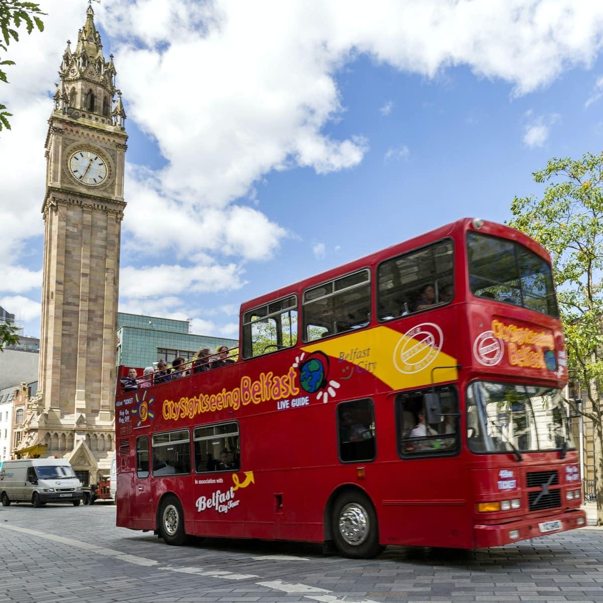 City Sightseeing Bus Belfast