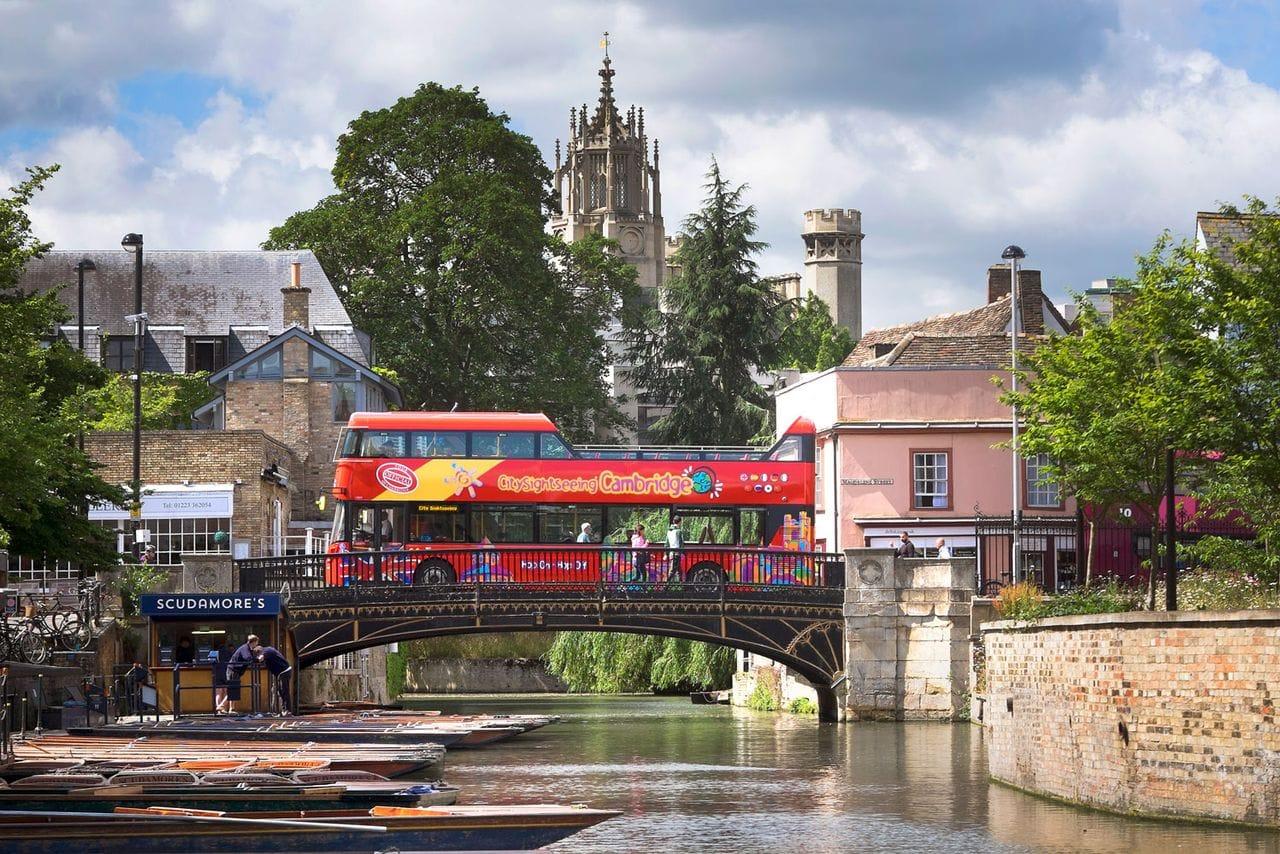 City Sightseeing Bus Cambridge
