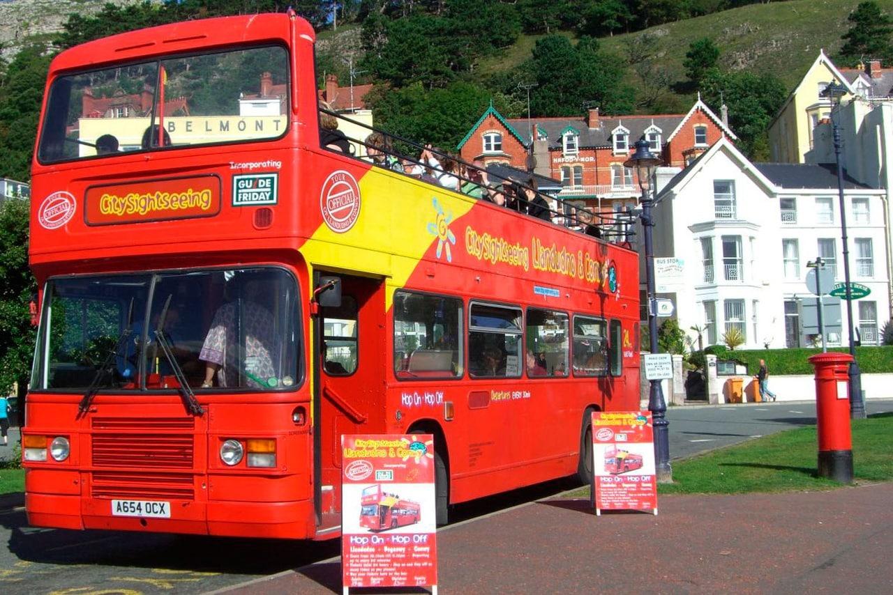 City Sightseeing Bus Llandudno