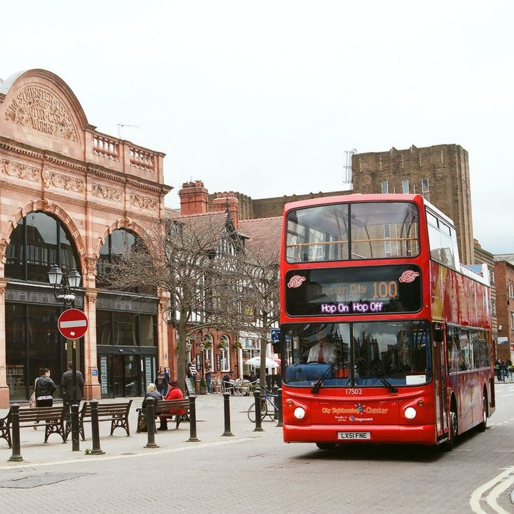 Featured image for City Sightseeing Bus Chester
