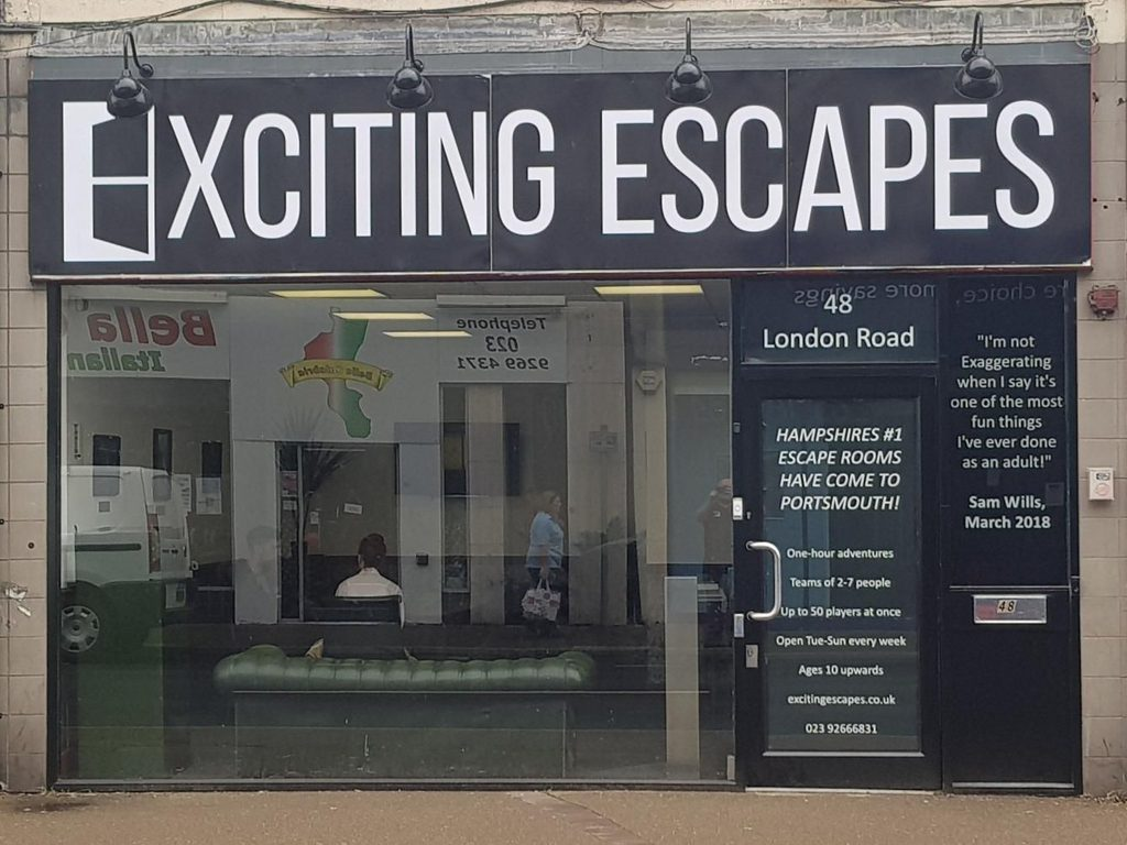 Thumbnail for Exciting Escapes Portsmouth